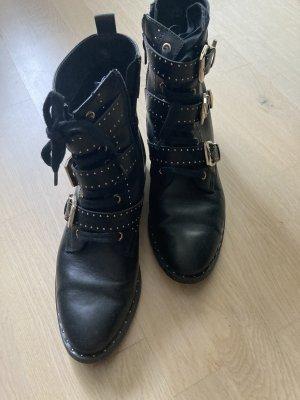 Catwalk Chelsea Boot noir-doré