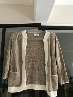 Allude Knitted Cardigan white-camel
