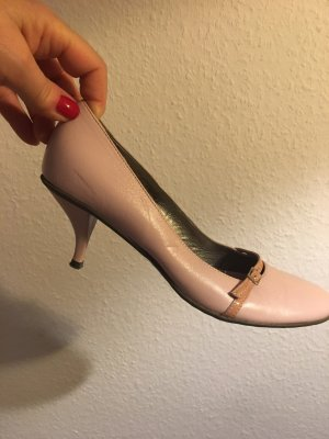 Vic Matie Strapped pumps dusky pink