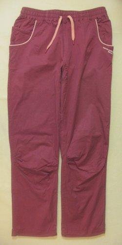 Supertolle, robuste Kletter-und Freizeithose, Sporthose, Pants von CRANE, beere/violett, Größe DE 40