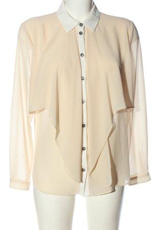 Supertrash Camicia blusa crema-bianco sporco stile casual