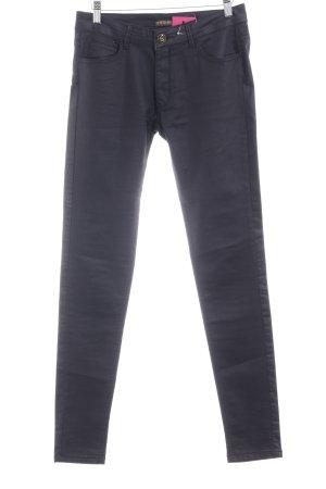 "Supertrash Slim Jeans ""Peppy"" schwarz"