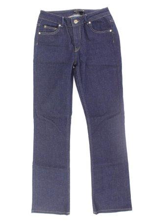 Supertrash Jeans a gamba dritta blu-blu neon-blu scuro-azzurro Cotone