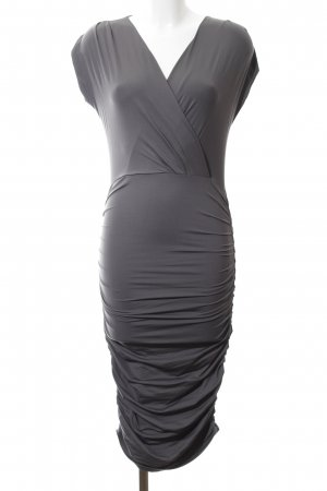 Supertrash Stretchkleid hellgrau Business-Look
