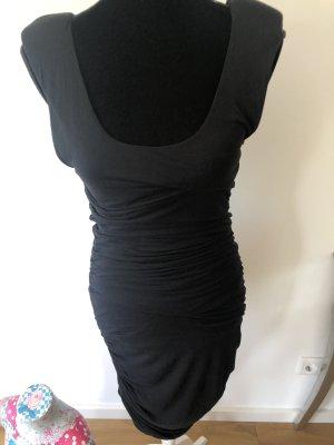 Supertrash Stretchkleid mit Sexy Raffungen und kleinen Schulterpolstern
