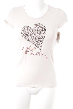 Supertrash T-Shirt Motivdruck Casual-Look