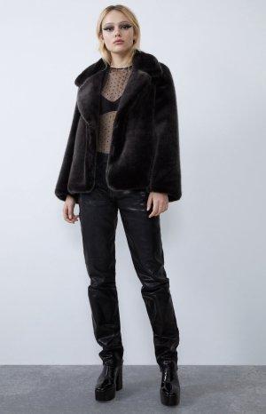 Superweiche Fake fur Jacke von Zara