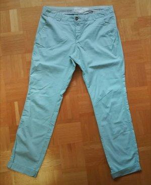 H&M Pantalon chinos vert menthe