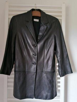 Elements Leather Blazer black