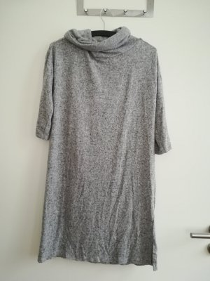 Blue Motion Woolen Dress light grey