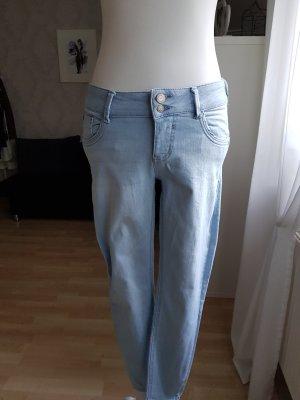 Clockhause Skinny Jeans white-azure
