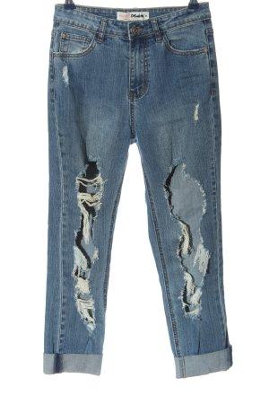 Supre Jeans a 7/8 blu stile casual