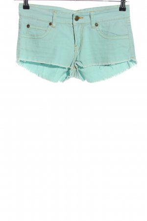 Supre Hot pants turchese stile casual