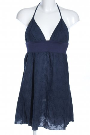 Supre Neckholderkleid blau Casual-Look