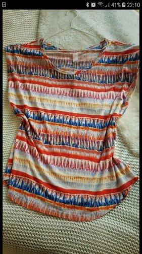 Supre Vestido estilo camisa multicolor