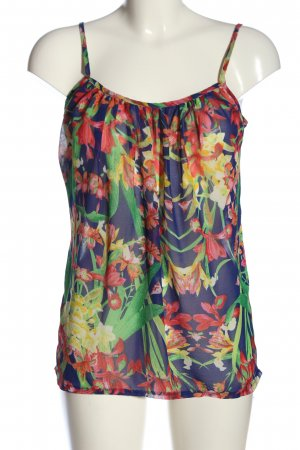 Supre Spaghetti Strap Top flower pattern casual look