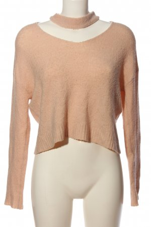 Supre Cable Sweater cream casual look