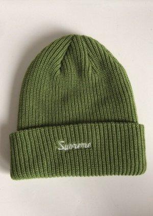 Supreme Berretto verde