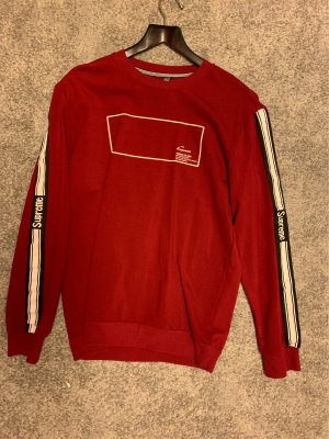 Supreme Pullover rot