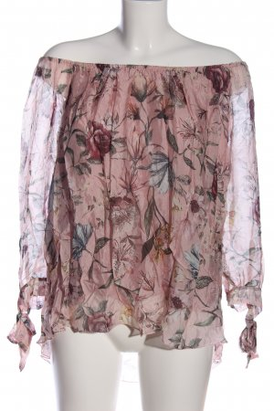 Sure Carmen blouse veelkleurig zakelijke stijl