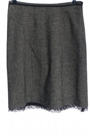 Sure Flared Skirt light grey flecked business style