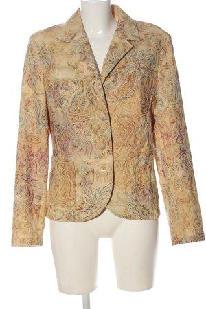 Sure Klassischer Blazer cream abstract pattern casual look