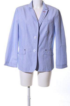 Sure Kurz-Blazer blau Streifenmuster Business-Look