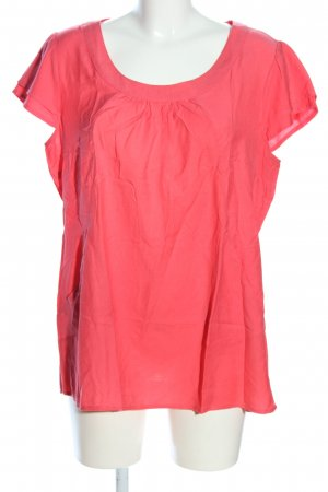 Sure Kurzarm-Bluse rot Casual-Look