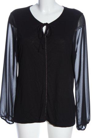 Sure Long Sleeve Blouse black casual look