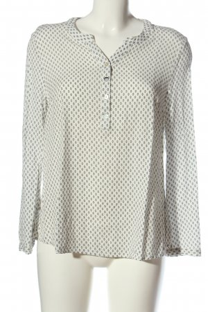 Sure Long Sleeve Blouse natural white-black allover print casual look
