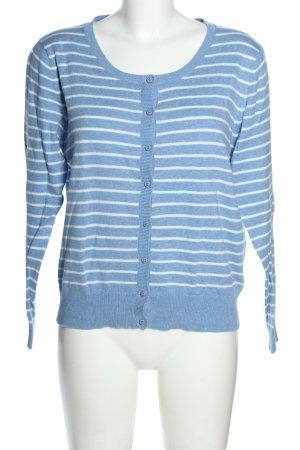 Sure Longsleeve blau-weiß meliert Casual-Look