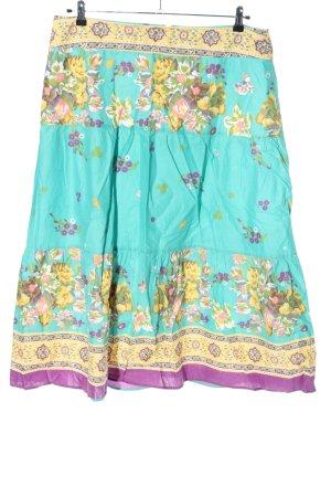 Sure Warstwowa spódnica Abstrakcyjny wzór W stylu casual