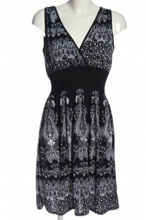 Sure Midi Dress black-white allover print casual look