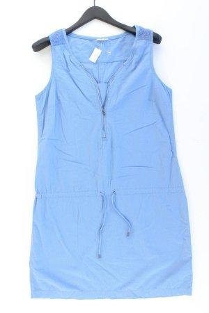 Sure Midi Dress blue-neon blue-dark blue-azure cotton