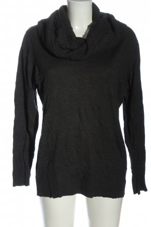 Sure Turtleneck Sweater black casual look