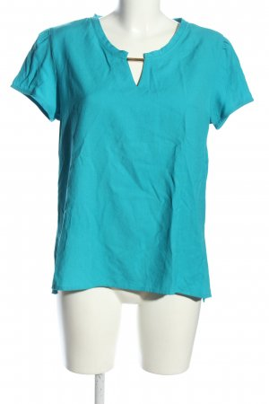 Sure Schlupf-Bluse blau Casual-Look