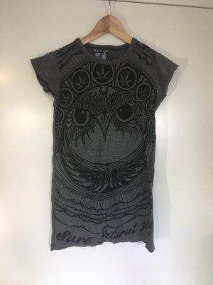 Sure T-shirt grigio-nero Cotone