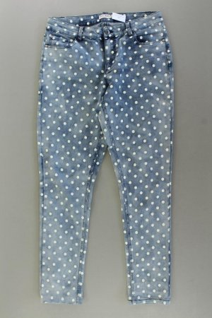 Sure Skinny Jeans blue-neon blue-dark blue-azure cotton