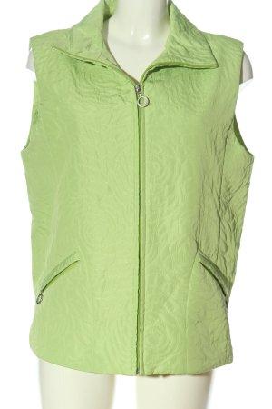 Sure Kamizelka sportowa zielony Pikowany wzór W stylu casual