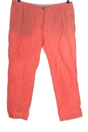 Sure Pantalone jersey arancione chiaro stile casual