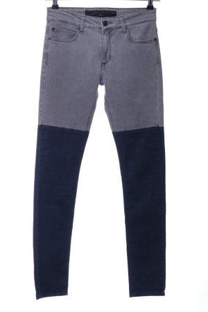 Surface to air Jeans skinny grigio chiaro-blu stile casual