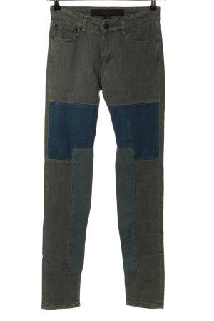 Surface to air Jeans slim fit grigio chiaro-blu stile casual