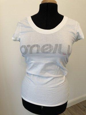 ONEILL T-shirt blanc cassé coton