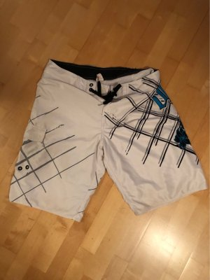 ONEILL Costume boxer bianco-turchese Poliestere