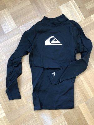 Quicksilver Maglietta sport nero-bianco