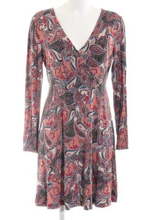 Surkana Jerseykleid abstraktes Muster Casual-Look