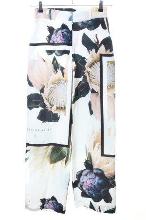 SUSANNA YI Twin Set tejido estampado floral look casual