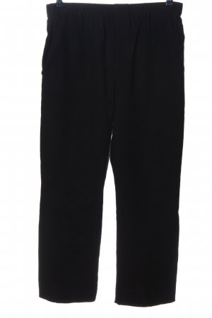 Susanne Bommer Woolen Trousers black casual look