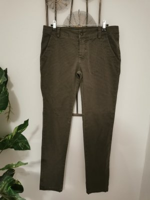 SusyMix Carrot Jeans dark green cotton