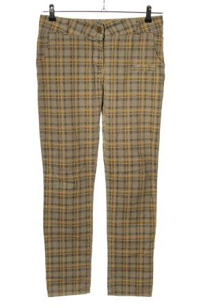 Susy Mix Spodnie rurki Wzór w kratkę W stylu casual